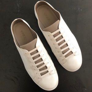 Vince White Sneaker Mule